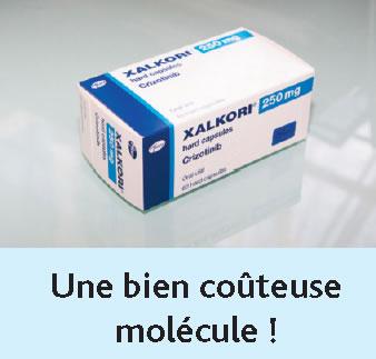 molécule couteuse
