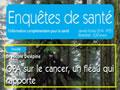 Enquête de Santé : O.P.A. sur le cancer, un fléau qui rapporte